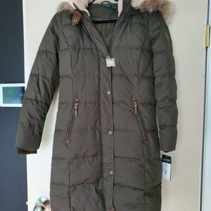 Ralph Lauren Winter Jacket Army Green